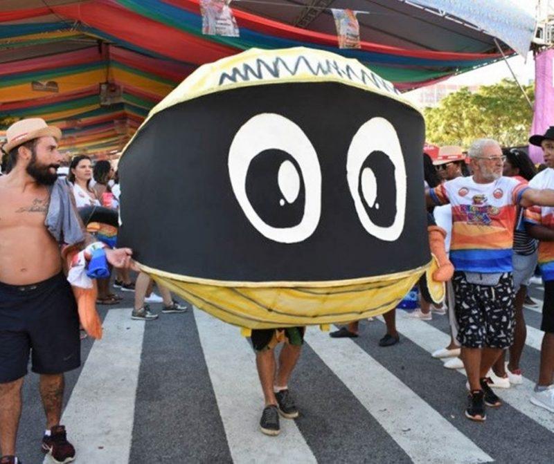 Concentração para o bloco começa às 11h próximo ao Largo da Alfândega – Foto: Berbigão do Boca/Divulgação/ND