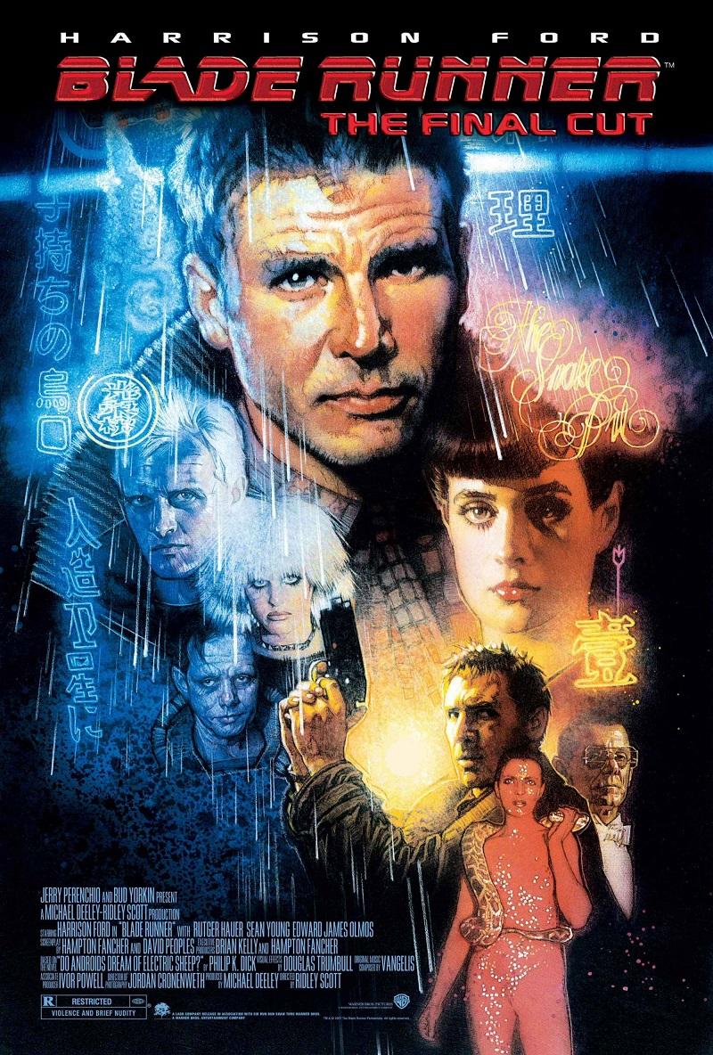 Blade Runner: O Caçador de Androides (1982) – Este clássico cult retrata o ano de 2019, no qual uma corporação desenvolve clones humanos para serem usados como escravos em colônias fora da Terra. Harrison Ford é o ex-policial Rick Deckard, acionado para caçar um grupo de androides fugitivos. - Crédito: Divulgação/33Giga/ND