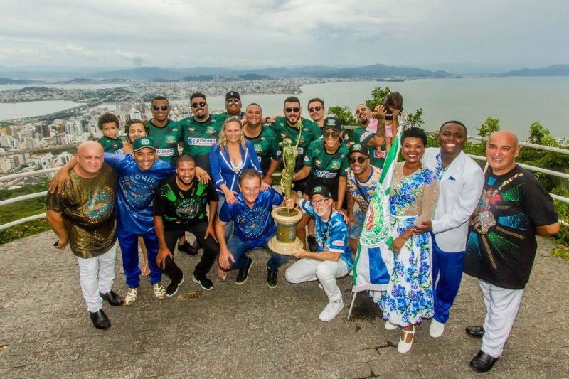 Unidos da Coloninha conquistou seu décimo título em 2020 – Foto: Flávio Tin/ND