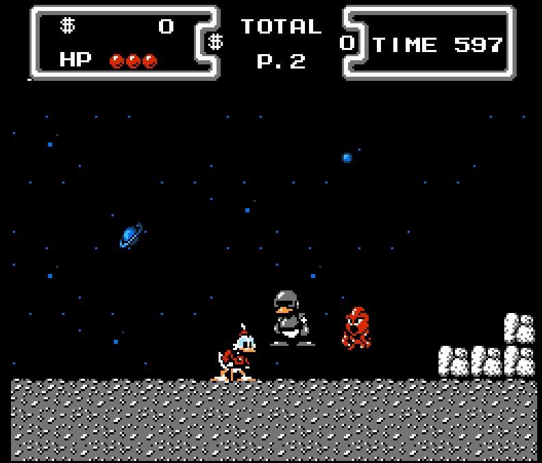 A Disney sempre brilhou também no mundo dos games. Duck Tales, que é o Tio Patinhas, estreou no NES em 1989. - Crédito: Reprodução/33Giga/ND