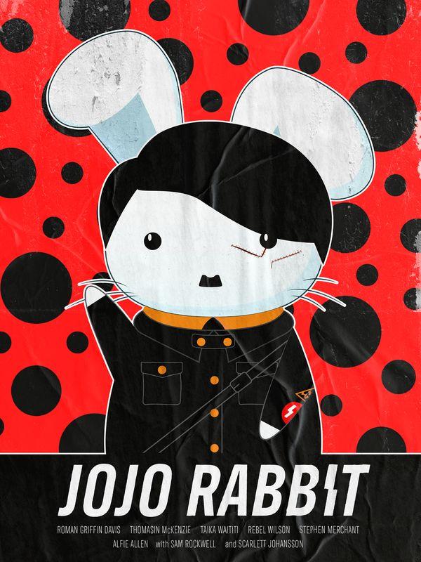 Jojo Rabbit – Pôster de Thanh Nguyen inspirado na arte de Yayoi Kusama. - Crédito: Divulgação/33Giga/ND