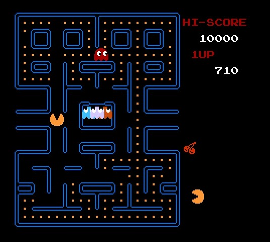 Verdadeiro símbolo dos games, o Pac-Man foi lançado em 1980, e até hoje recebe versões. - Crédito: Reprodução /33Giga/ND