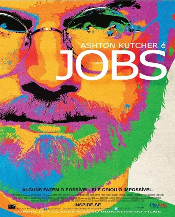 Jobs (2013) – A história narra a ascensão de Steve Jobs, um dos empresários mais aclamados do universo tecnológico. O filme conta as experiências positivas e negativas da vida pessoal e profissional do criador da Apple. - Crédito: Divulgação/33Giga/ND