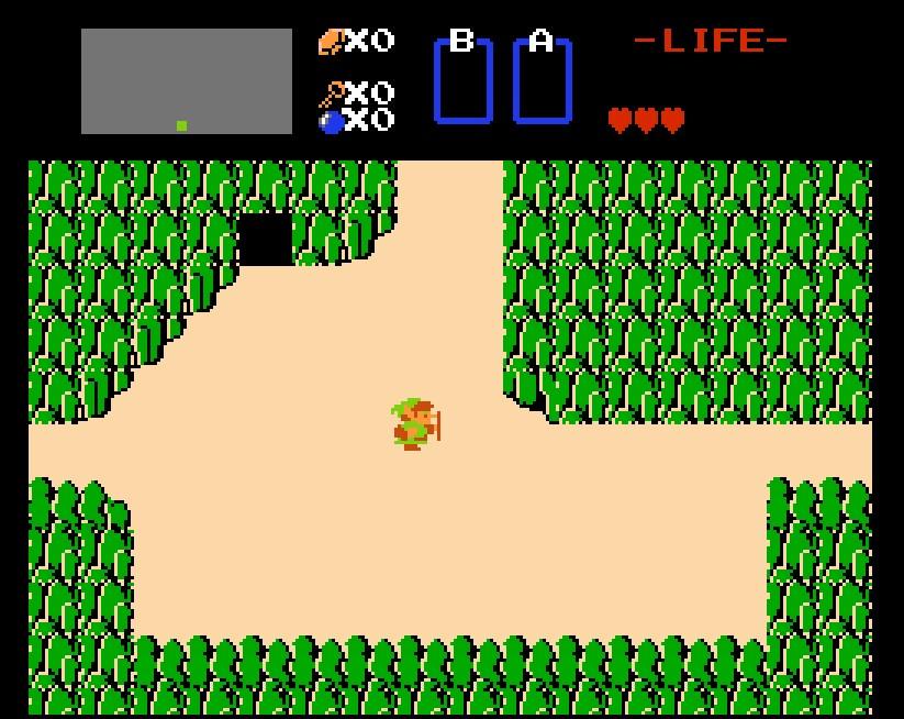 Outra franquia clássica da Nintendo, The Legend of Zelda apareceu pela primeira vez em 1986. - Crédito: Reprodução/33Giga/ND
