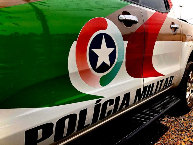 Polícia Militar atendeu a ocorrência na noite deste domingo – Foto: Willian Ricardo/ND
