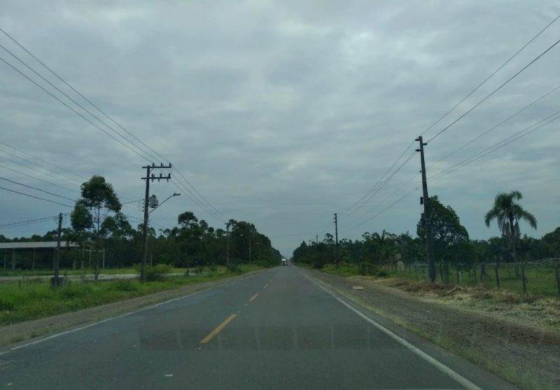 Divisa entre Criciúma e Forquilhinha, cidade em que Thiago Salvático morou até 2009. A cidade nunca mais será a mesma! - Caroline Borges/ND