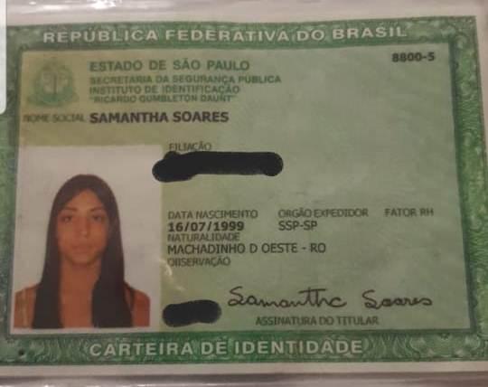 Samantha do Valle, de 20 anos, foi morta por um cliente após um programa dentro do estabelecimento no Sul da Ilha – Foto: Divulgação ND