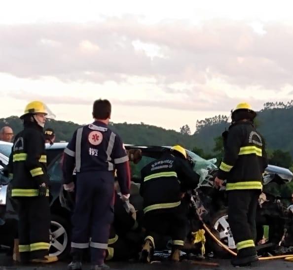 Bebê não resistiu aos ferimentos e morreu no local – Foto: Redes Sociais/Divulgação/ND
