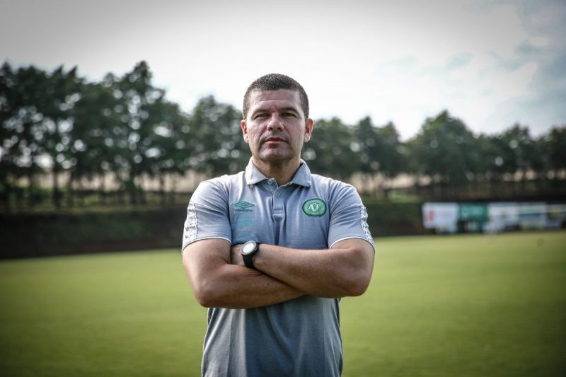 Umberto Louzer, de 49 anos – Foto: Márcio Cunha/Chapecoense/ND