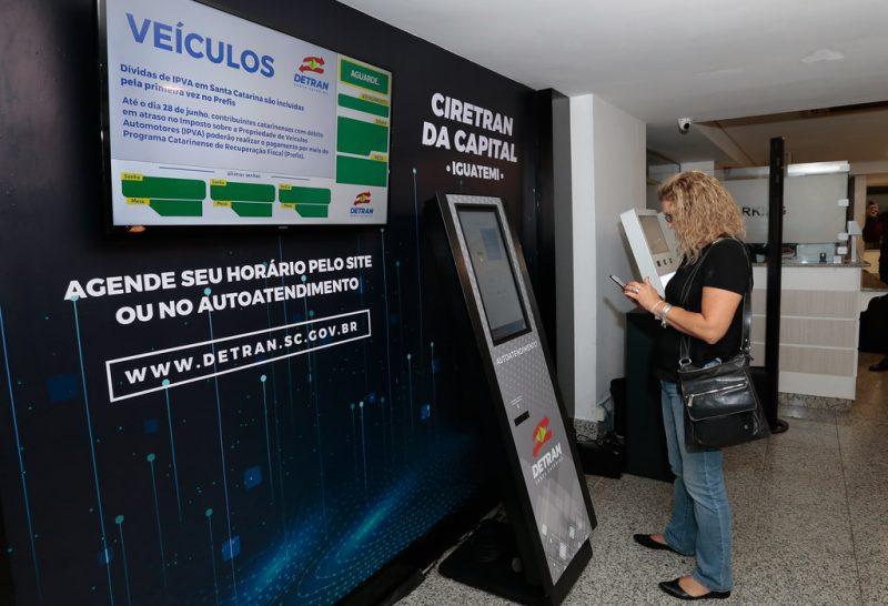 Posto de atendimento fica no piso G1 do shopping Iguatemi – Foto: Mauricio_Vieira/ND