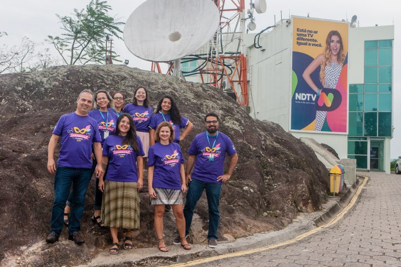Parte da equipe do site nd+ e do ND que estará envolvida na cobertura do Carnaval – Foto: Flávio Tin/ND
