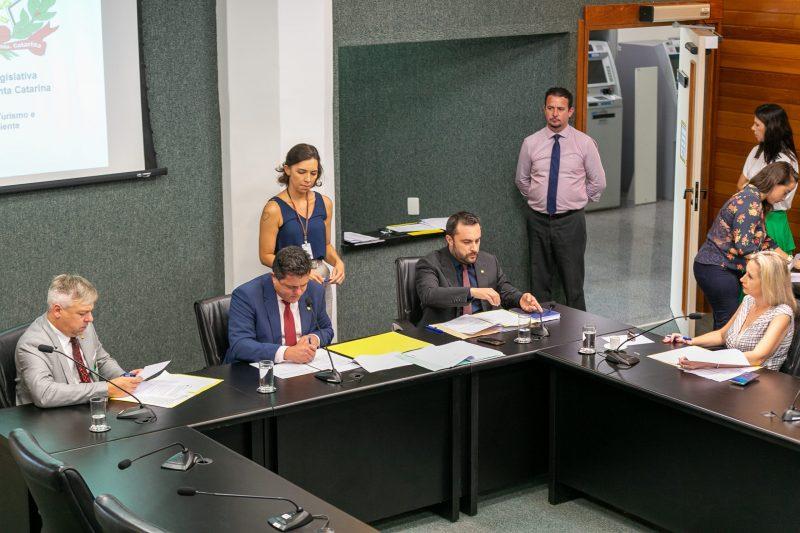 Reunião da Comissão de Turismo e Meio Ambiente – Foto: Fábio Queiroz/Agência AL