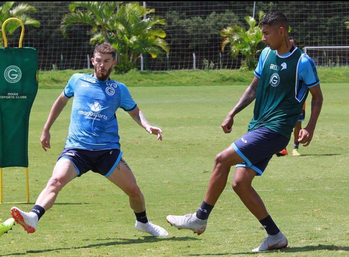O Goiás fecha a lista dos cinco primeiros clubes com 24,7% da utilização de atletas da base - Reprodução/Instagram