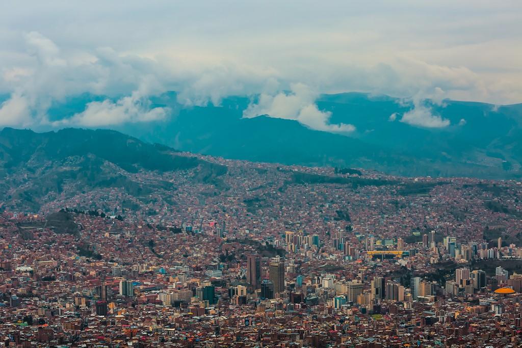 La Paz (Bolívia): a cidade é a sede do Governo, sendo uma das duas capitais oficiais do país - Franz Barjak [Public domain] - Franz Barjak [Public domain]/Rota de Férias/ND