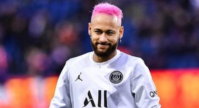 Neymar apagado diante do Manchester City. Eliminado da final da Liga dos Campeões – Foto: Reprodução/Twitter/ND