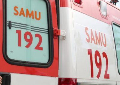 Médicos do SAMU que estavam de folga passaram pelo local no momento do acidente e ajudaram no atendimento das vítimas – Foto: divulgação