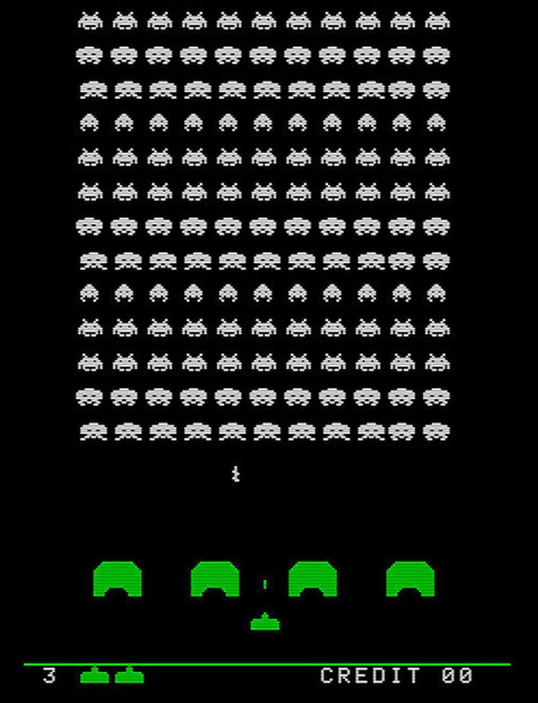 Lançado em 1978, o Space Invaders é mais um game que marcou o Atari 2600. - Crédito: kevindean via Visual Hunt / CC BY-NC-SA/33Giga/ND