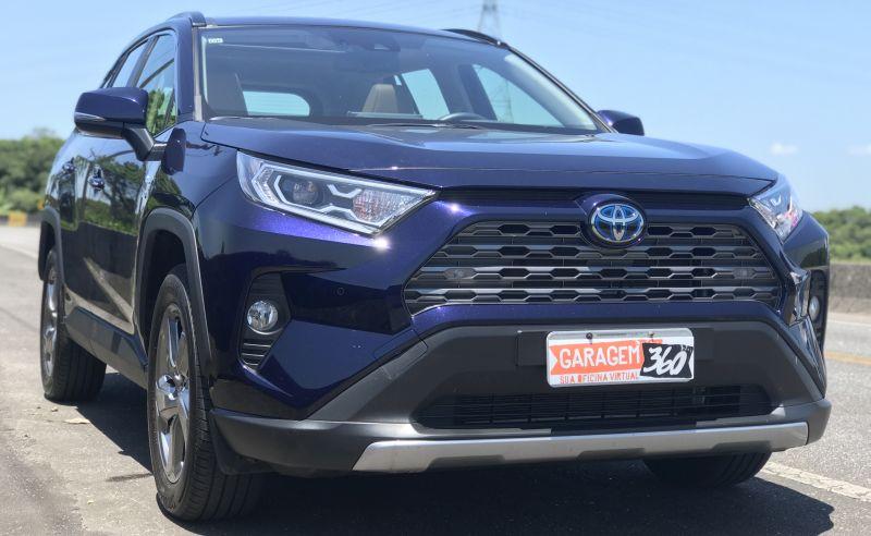 Os detalhes do SUV híbrido da Toyota - Foto: Luchelle Furtado/Garagem360 - Foto: Luchelle Furtado/Garagem360/Garagem 360/ND