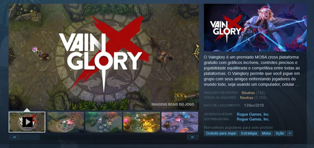 Vainglory (Steam, Apple, Android e PC) - Reprodução /33Giga/ND