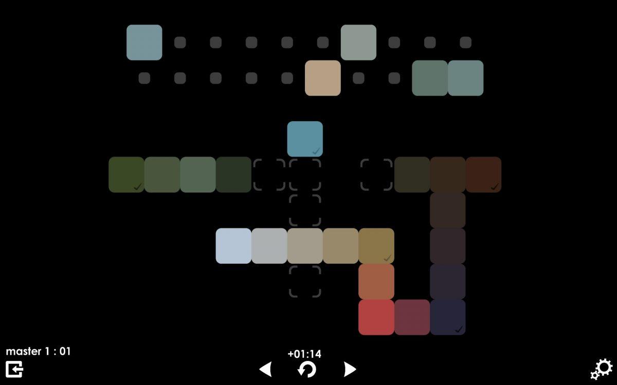 Melhores jogos gratuitos para Android: 1. Blendoku 2 (http://bit.ly/2SgA5q7) – Nota 8,95 - Crédito: Divulgação/33Giga/ND