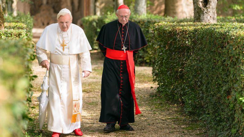 Dois Papas (2019) – Em um momento decisivo para a Igreja Católica, o Papa Bento XVI forma uma amizade surpreendente com o futuro Papa Francisco. - Crédito: Divulgação/33Giga/ND