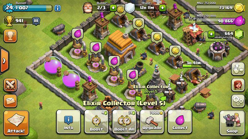 15. Clash of Clans (http://bit.ly/2UDFPfn) – Nota 8,76 - Crédito: Divulgação/33Giga/ND