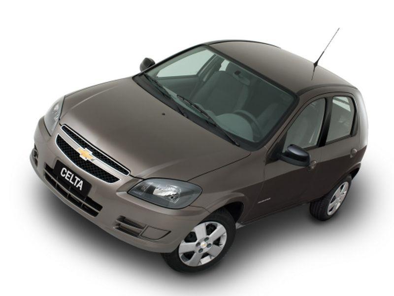 Mais buscados em 2019 - Chevrolet Celta - Divulgação - Divulgação /Garagem 360/ND