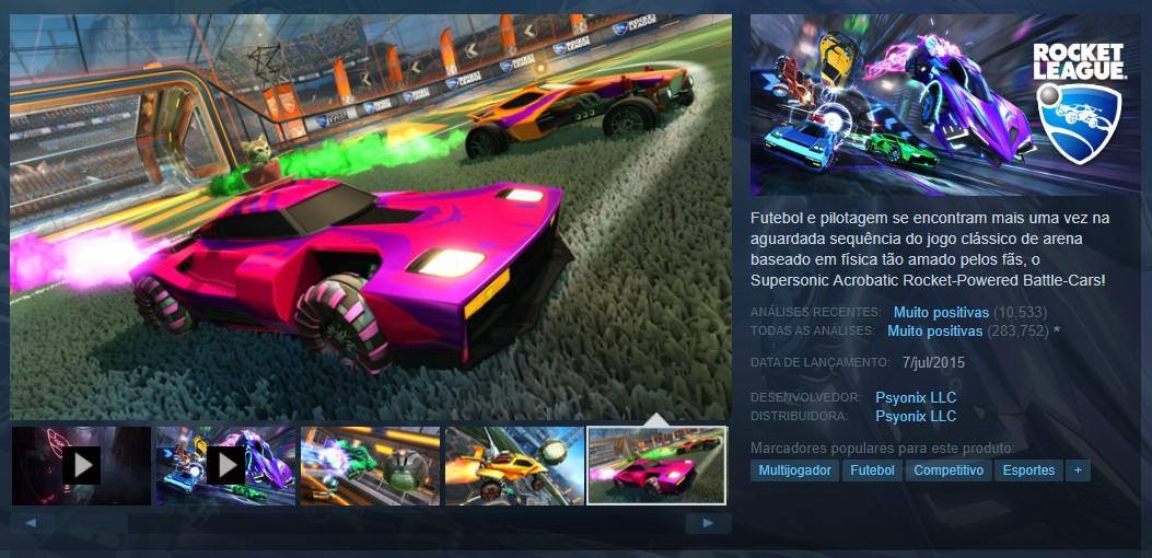 Rocket League (PlayStation 4, Xbox One, Nintendo Switch, PC) - Reprodução /33Giga/ND