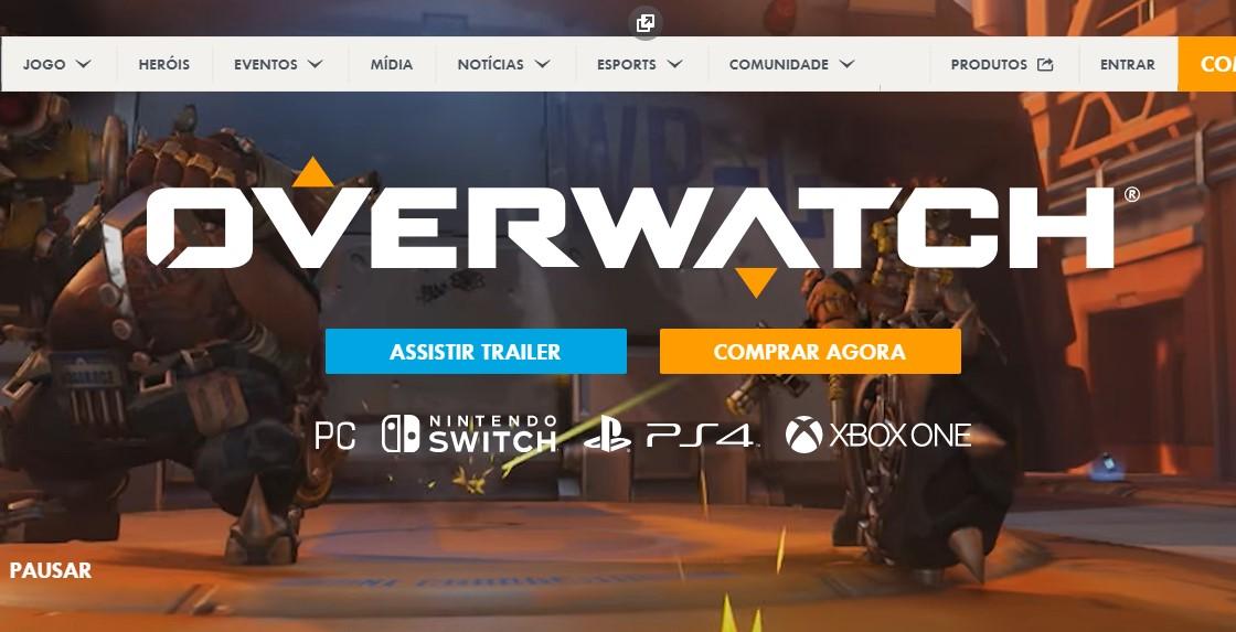Overwatch (PlayStation 4, Nintendo Switch, Xbox One, PC) - Reprodução /33Giga/ND