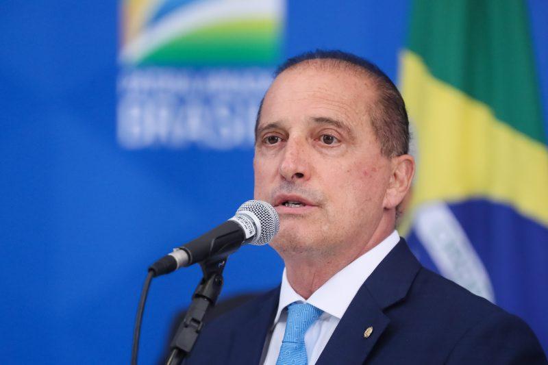 Ministro da Cidadania, Onyx Lorenzoni, recomendou clareza nas informações de CPF's inconclusos que estão sob análise – Foto: Foto: Isac Nóbrega/PR
