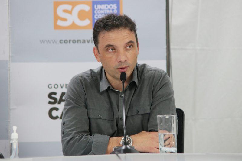 Helton de Souza Zeferino, ex-secretário estadual de Saúde – Foto: Cristiano Estrela/ND