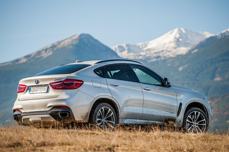 BMW X6: quatro versões do SUV, fabricadas entre 2014 e 2019, foram convocadas por um problema no sistema ISOFIX. O texto completo pode ser acessado aqui: http://bit.ly/2UPKzhR - Foto: Divulgação - Foto: Divulgação/Garagem 360/ND