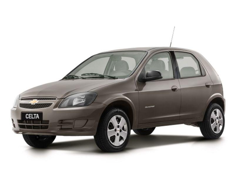 Mais anunciados em 2019 - Chevrolet Celta - Divulgação - Divulgação /Garagem 360/ND
