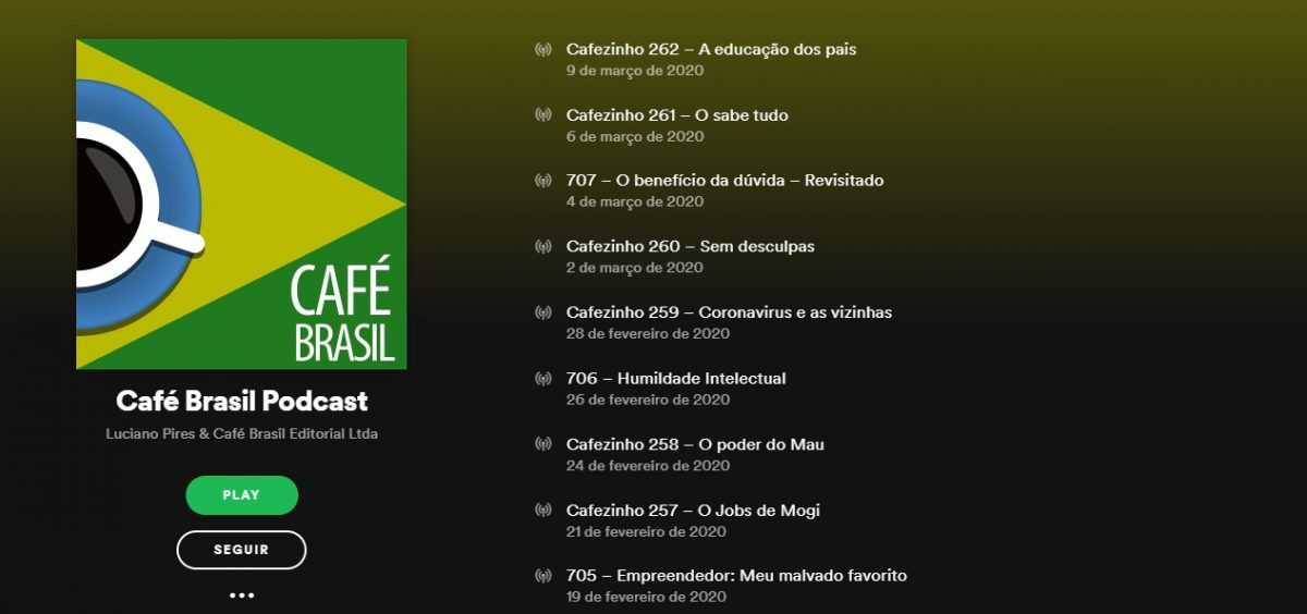 Café Brasil Podcast - Reprodução/33Giga/ND