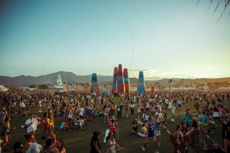 Festival Coachella na Califórnia – Foto: Reprodução/Redes Sociais/ND