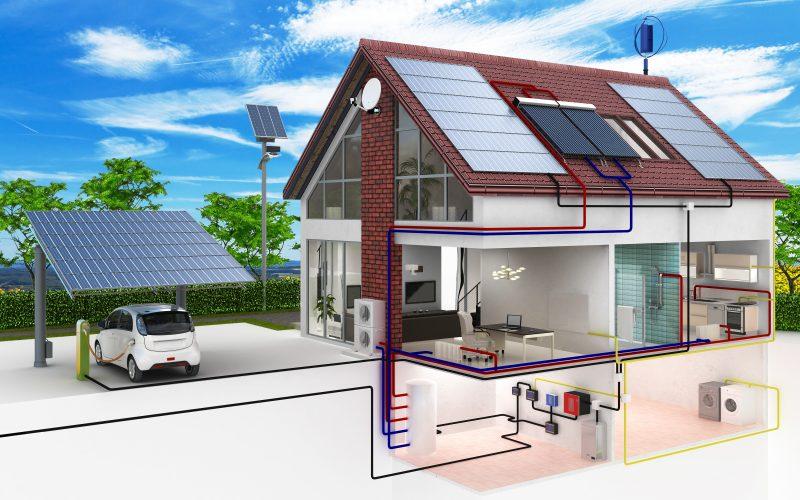 Smart Home – Energia renovável com uso de baterias e carregadores de carros elétricos serão cada vez mais vistos no Brasil. – Foto: 4th Life Photography – stock.adobe.com/ND