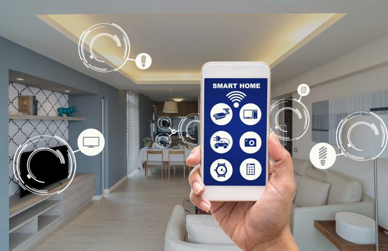 SmartHome – casa inteligente, o controle da sua casa na palma da mão – Foto: THANANIT – stock.adobe.com/ND