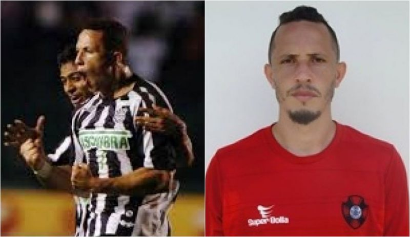 Diogo comemora gol pelo Figueirense em 2007 | Hoje, aos 33 anos, o jogador atua pelo Vila Nova - Reprodução