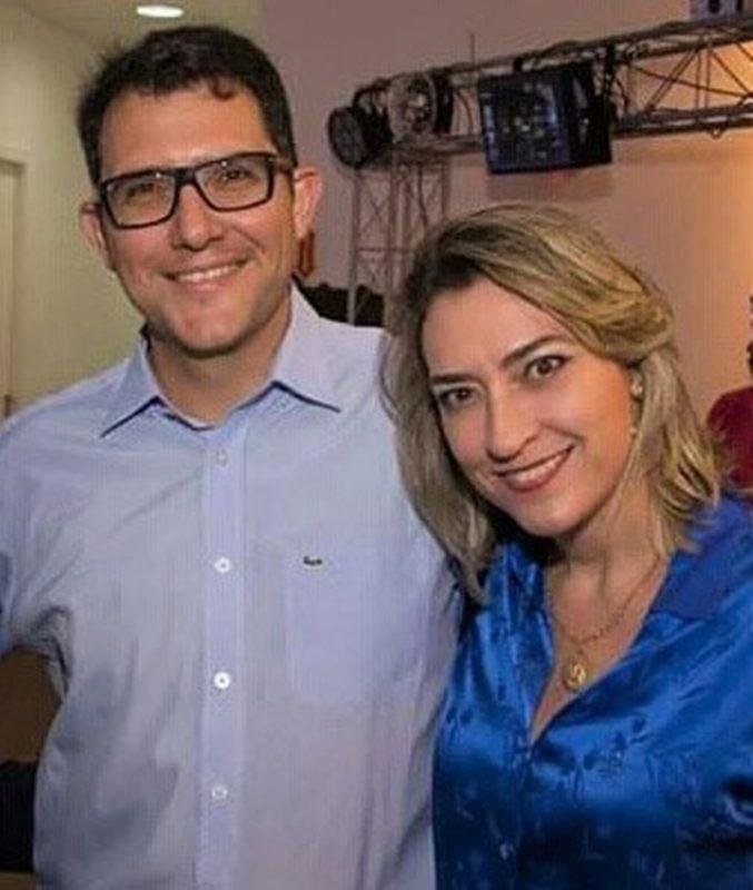 Fábio Zanini e Rachel Schlindwein Zanini, que lançou o seu novo livro sobre neuropsicologia logo após retornar da visita à Universidade de Harvard – Foto: Divulgação/ND