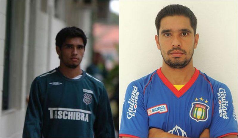 Anderson Luís no Figueirense em 2007 | Aos 31 anos, hoje o jogador atua pelo São Caetano - Reprodução