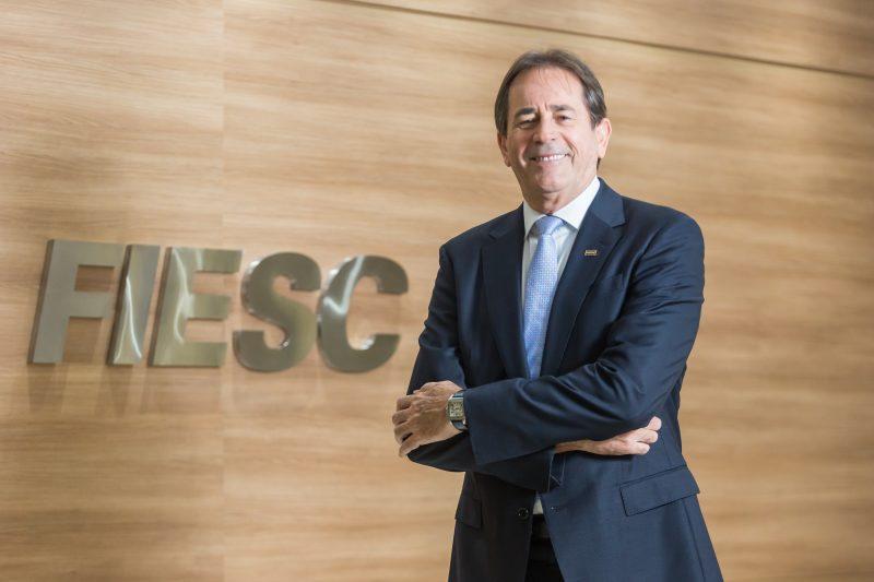 O presidente da Fiesc, Mario Cezar de Aguiar – Foto: FIESC/Marcos Campos/Divulgação/ND
