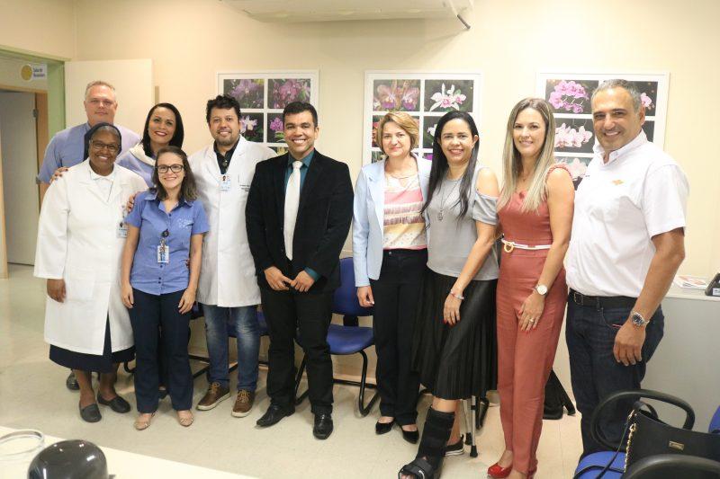 Entrega reuniu apoiadores, autoridades e equipe do hospital – Foto: Mariana Luiza dos Santos/Divulgação