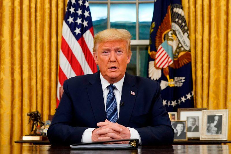 Com aprovação em baixa, Trump vê sob ameaça controle republicano do Senado – Foto: Divulgação/ND