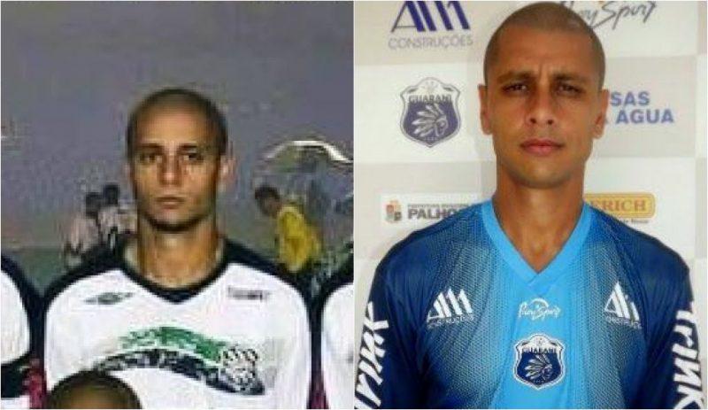 Vinícius no jogo de ida da final da Copa do Brasil em 2007 pelo Figueirense | hoje, aos 36 anos, o jogador atua pela Caldense - Reprodução
