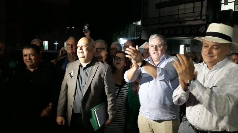 Norton Boppré, novo presidente do Figueirense até o final de 2022; eleição no clube e, ao que parece, alvinegro recolocado nos eixos - Fábio Machado/ND