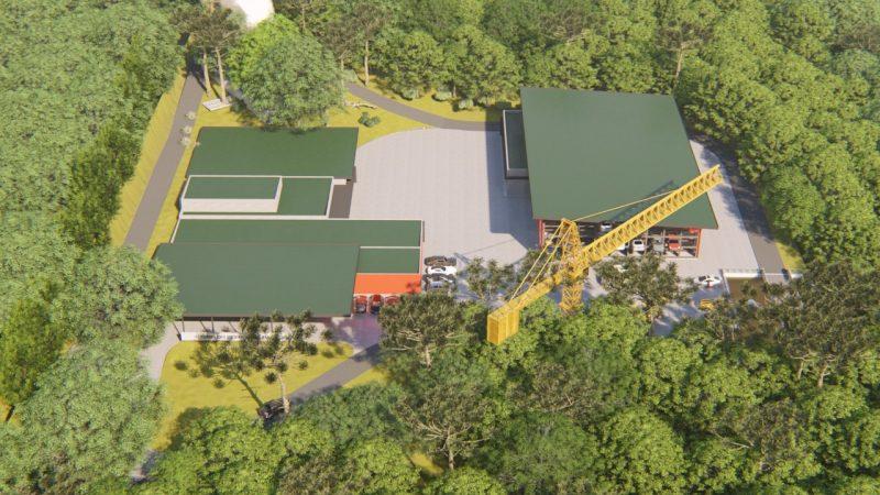 Estrutura será construída no bairro Quedas do Palmital – Foto: Reprodução/ND