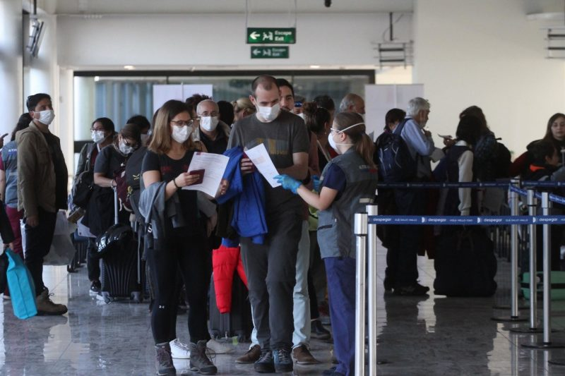 Casos de coronavírus se espalham pelo mundo – Foto: Rodrigo Balladares M./Minsal