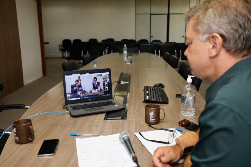 Gean Loureiro se reúne com presidente para falar de ações em Florianópolis – Foto: Prefeitura de Florianópolis/ND