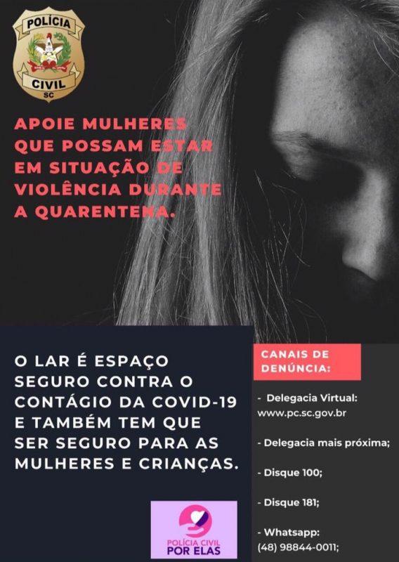 violência doméstica – Foto: Polícia Civil/ND