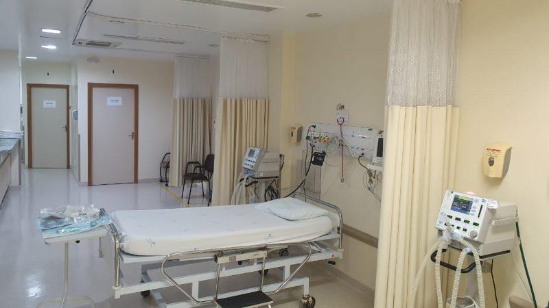 Exemplo de leito no Hospital Dona Helena – Foto: Divulgação Hospital Dona Helena